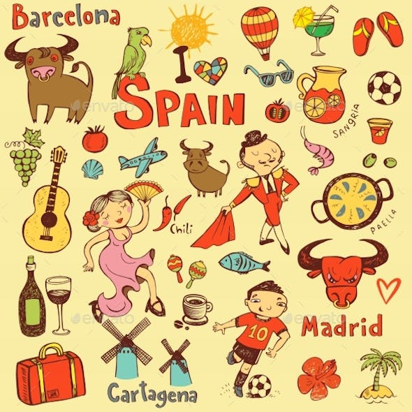 Spain Icons Collection