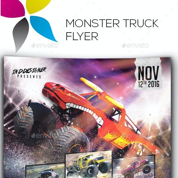 Monster Truck Flyer