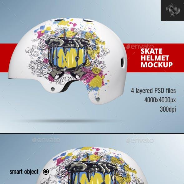 Bell Form Skate Helmet Mockup