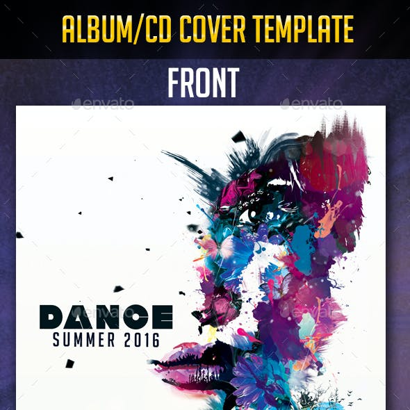 Dance Summer Album/cd cover