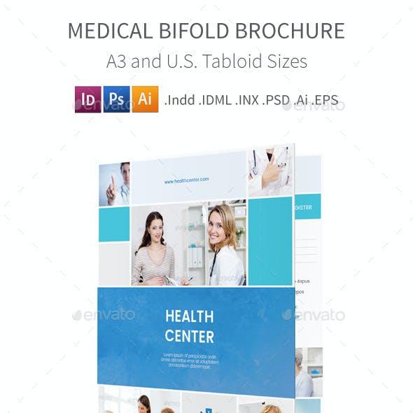 Medical Bifold / Halffold Brochure 5
