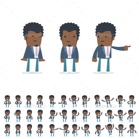 150+ Poses of Character Startup Entrepreneur
