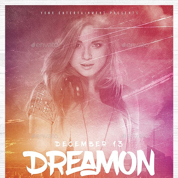 Dream On Flyer Template
