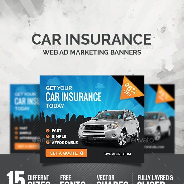 Car Insurance Banners