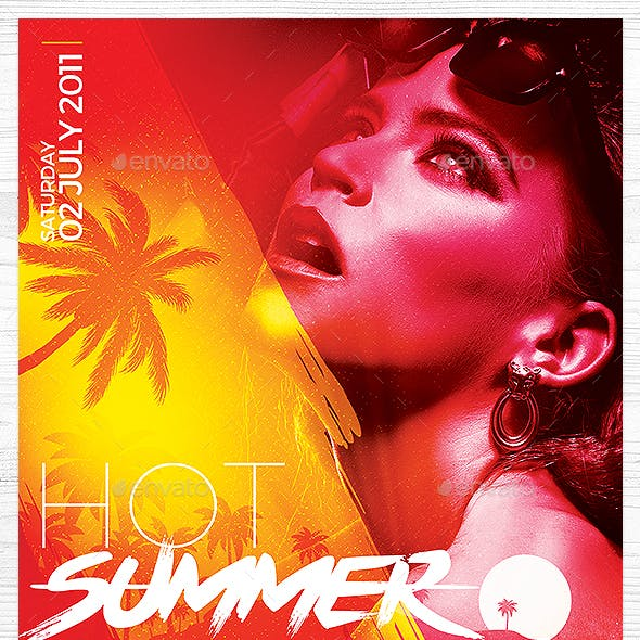 Hot Summer Flyer