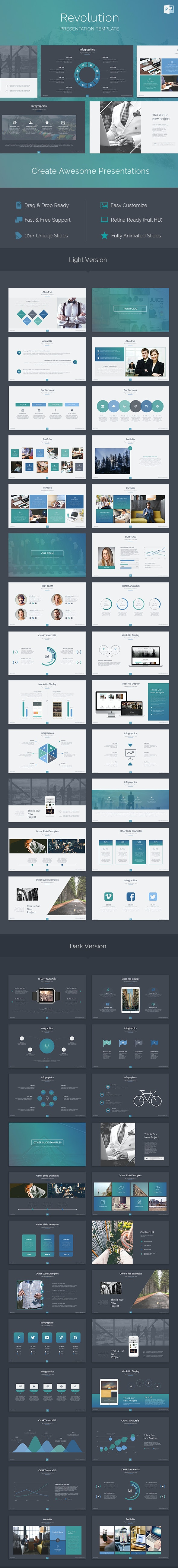 Revolution - Creative Powerpoint Template - PowerPoint Templates Presentation Templates