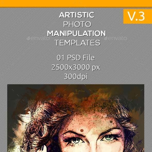 Artistic Photo Manipulation Template V.3
