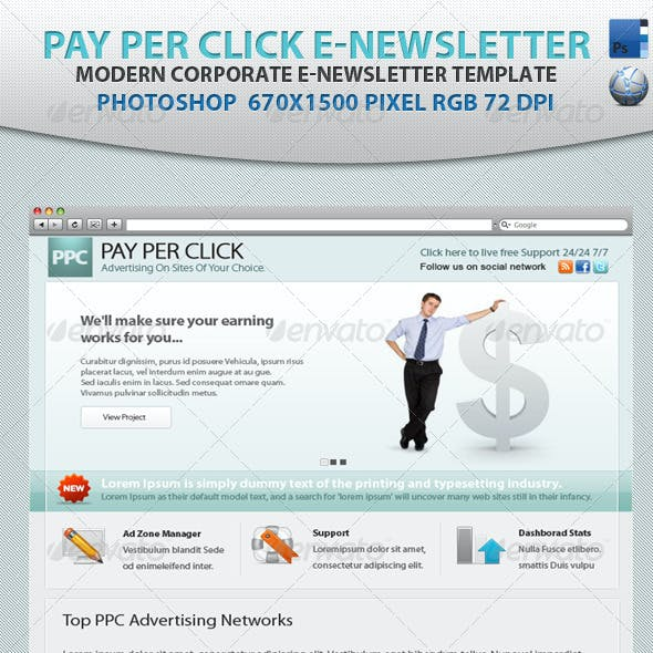 Pay Per Click E-newsletter