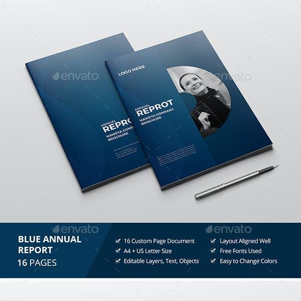 Haweya Blue Report/Brochure