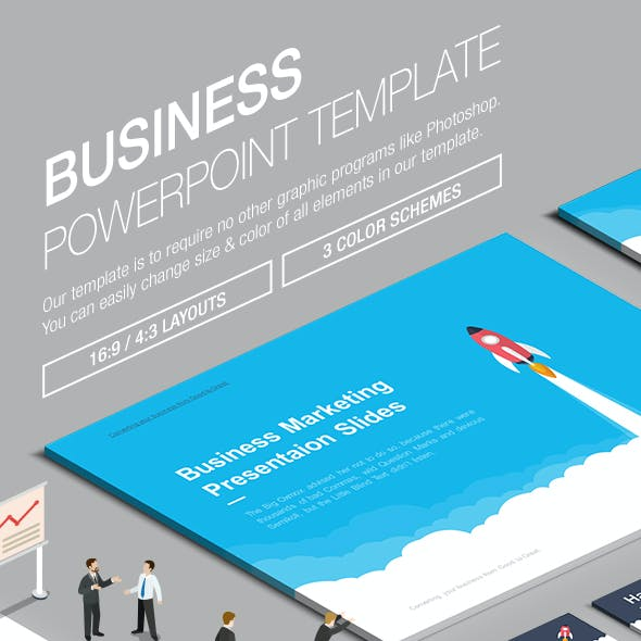 Business Powerpoint Template 008