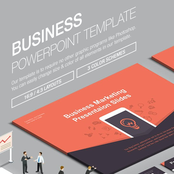 Business Powerpoint Template 010
