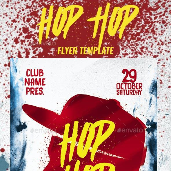 Hip Hop Party Flyer Template