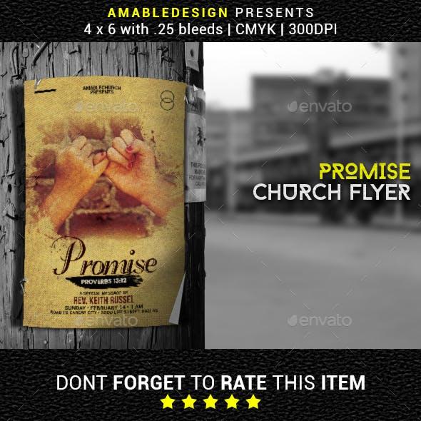 Promise Church Flyer/Poster