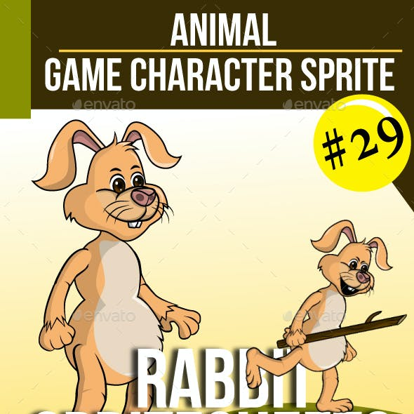 Game Asset : The Rabbit