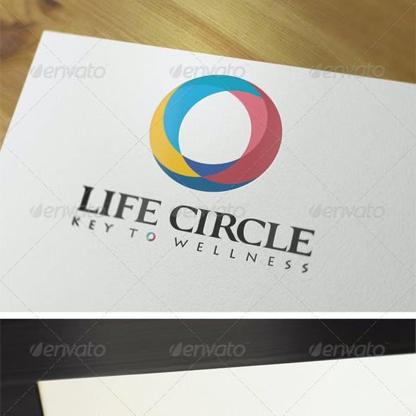 Life Circle Logo Template