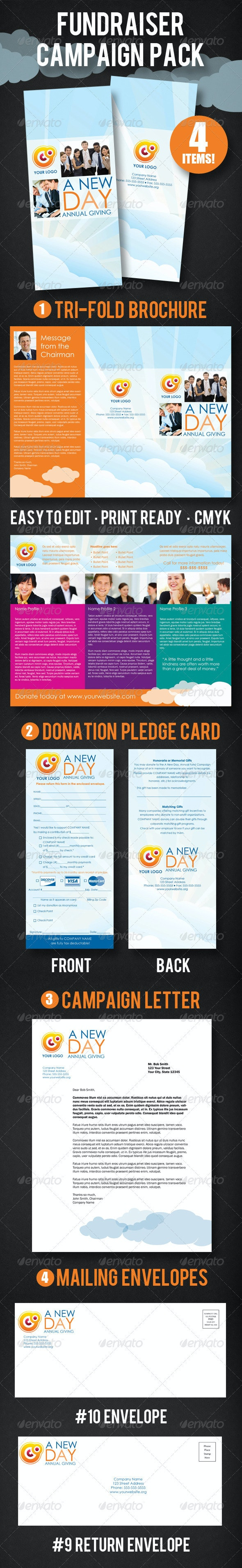 Fundraising Campaign Pack - Corporate Brochures
