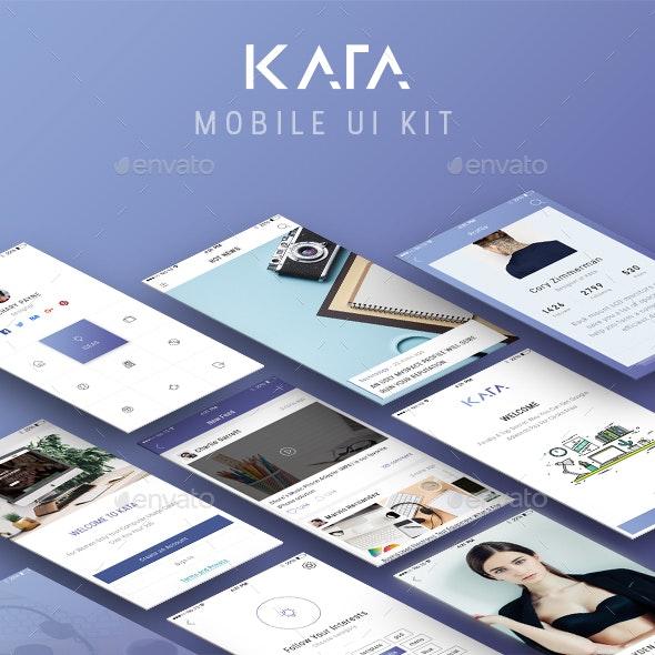 Kata UI Kit - User Interfaces Web Elements