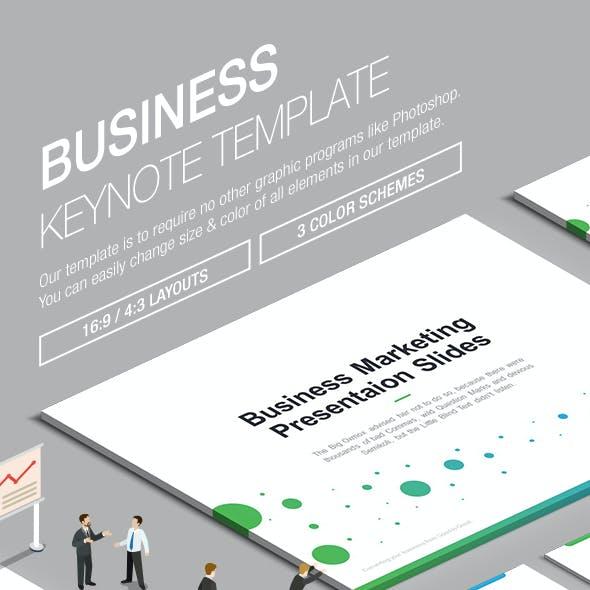 Business Keynote Template 004