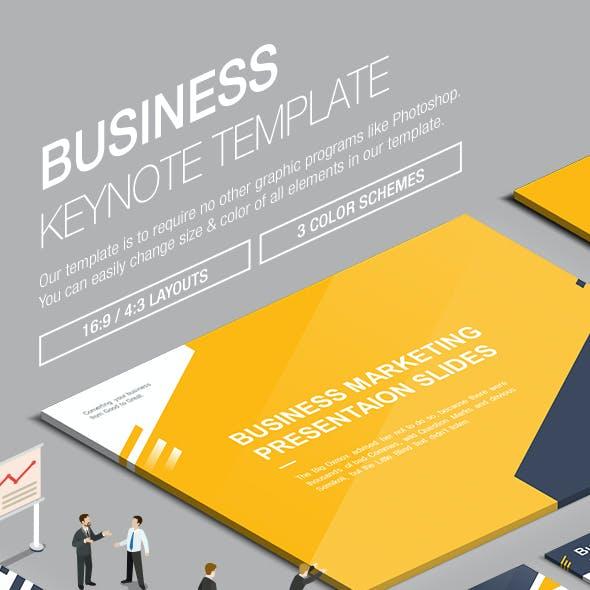 Business Keynote Template 009