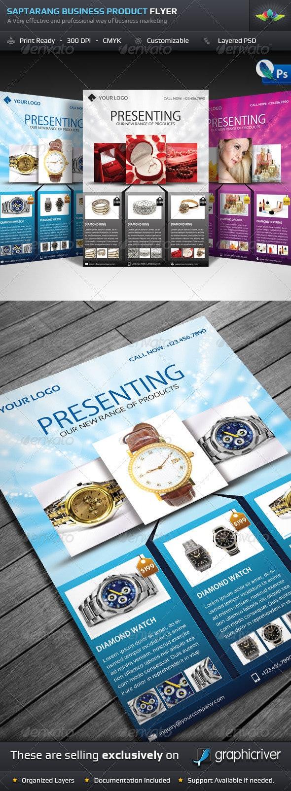 Saptarang Business Product Flyer - Commerce Flyers