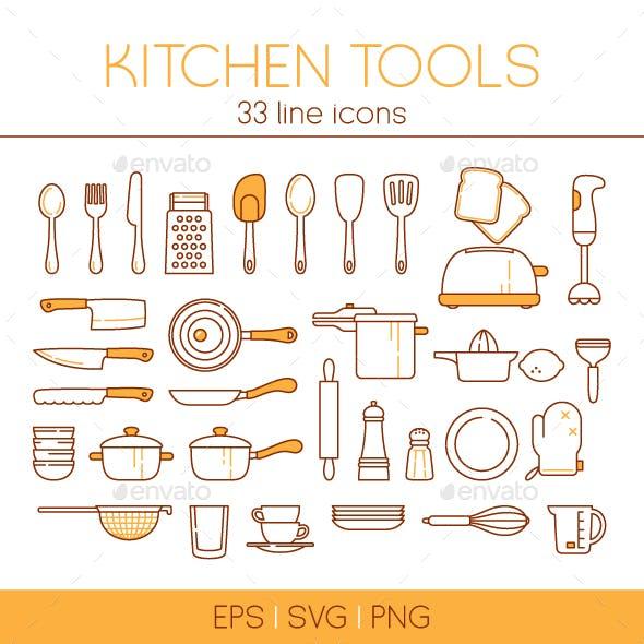 33 Kitchen tools