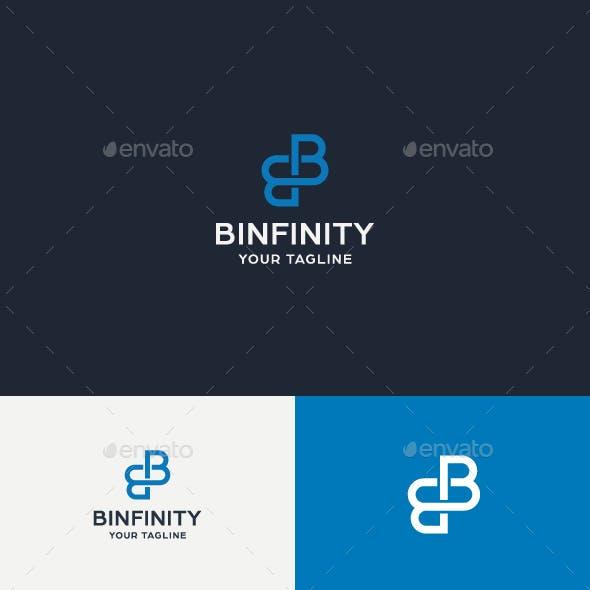 Binfinity B Letter Logo