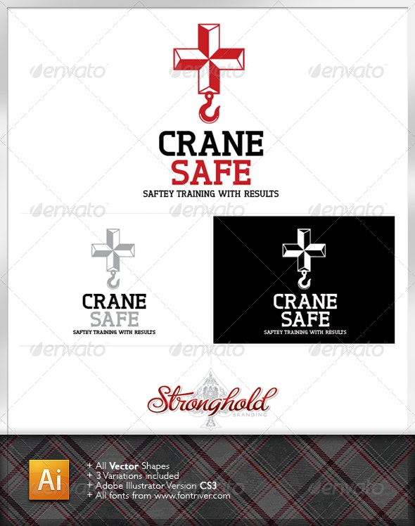 Crane Safe Logo Template - Symbols Logo Templates