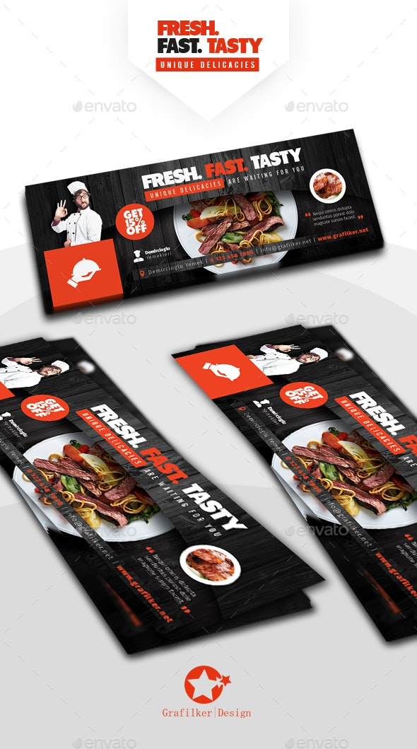 Restaurant Cover Templates - Facebook Timeline Covers Social Media