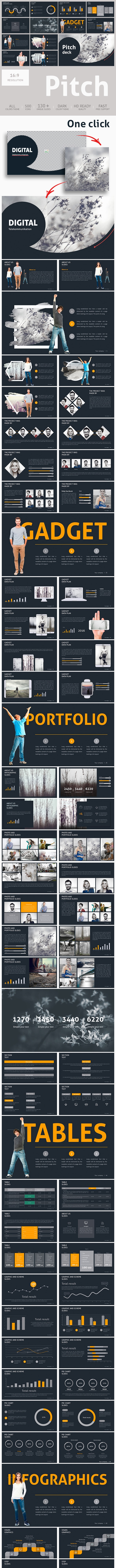Pitch Deck PowerPoint Presentation - Pitch Deck PowerPoint Templates
