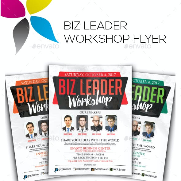 Biz Leader Workshop Flyer
