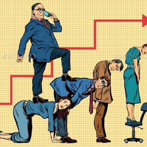 Boss Business Career On The Backs Of Workers