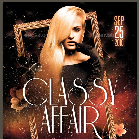 Classy Affair Flyer