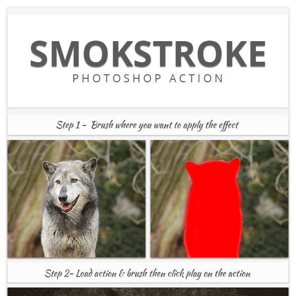 Smokstroke | Photoshop Action
