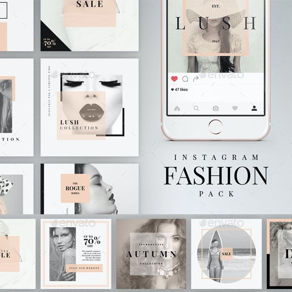 Instagram Fashion Pack