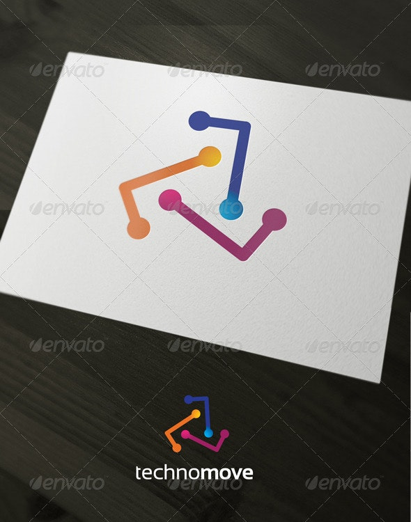 Technomove - Abstract Logo Templates