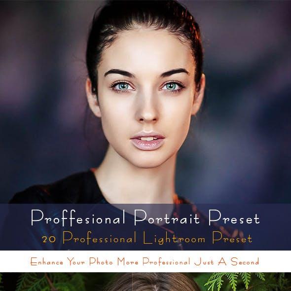 Professional Portrait Preset
