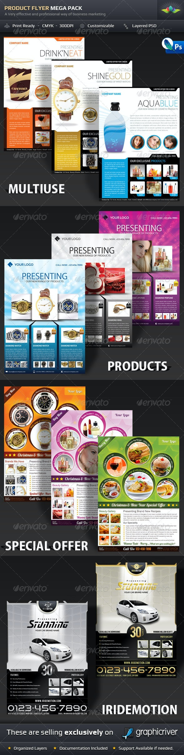 Product Flyer Mega Pack  - Corporate Flyers