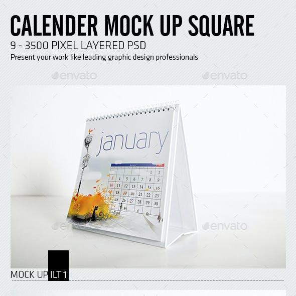 Calender Mock Up Square
