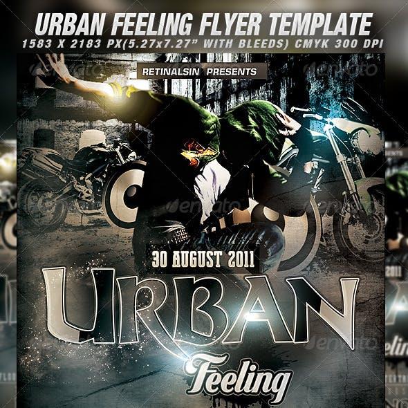 Grunge/Urban Flyer Template