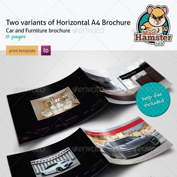 Modern, Interior And Moto A4 Brochures