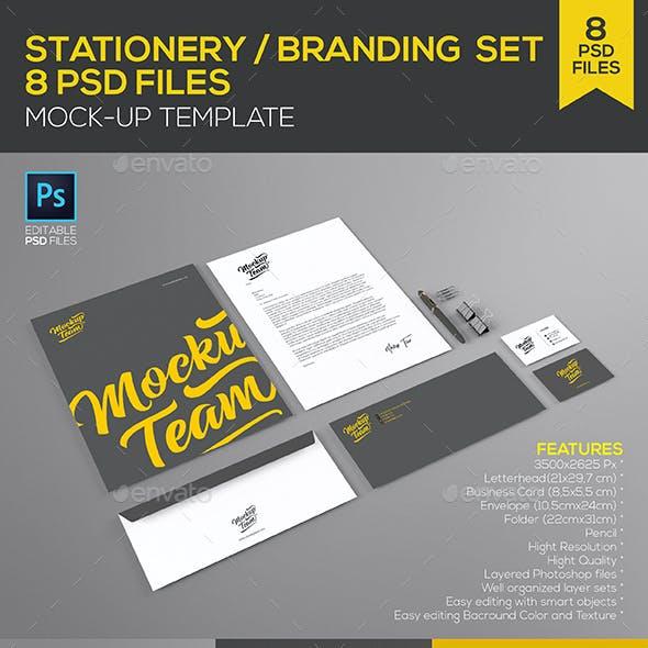 Stationery / Branding Set Mock-up Template