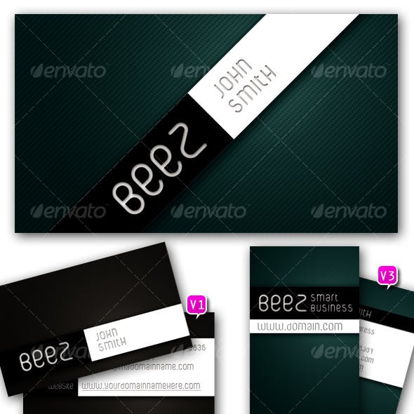 BEEZ - smart business card set