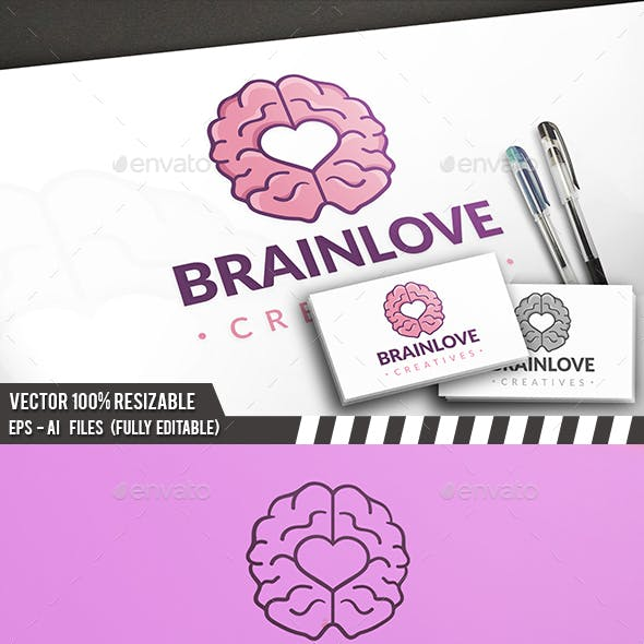 Brain Love Logo