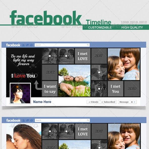 Facebook Timeline Cover - Love - V.4