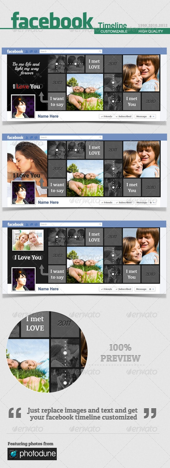 Facebook Timeline Cover - Love - V.4 - Facebook Timeline Covers Social Media
