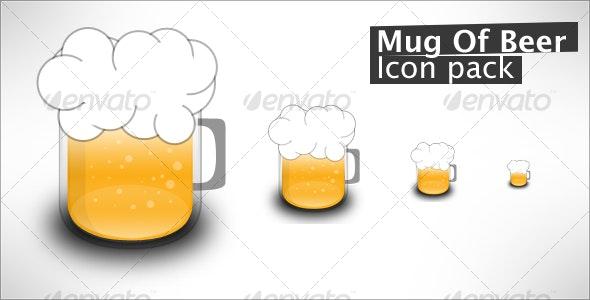 Mug Of Beer - Food Objects