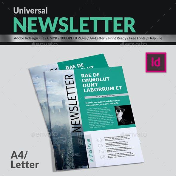 Universal Newsletter