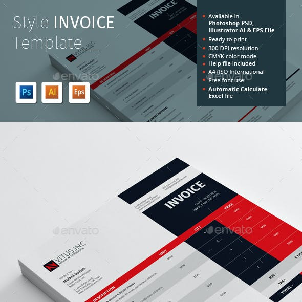 Style Invoice Template