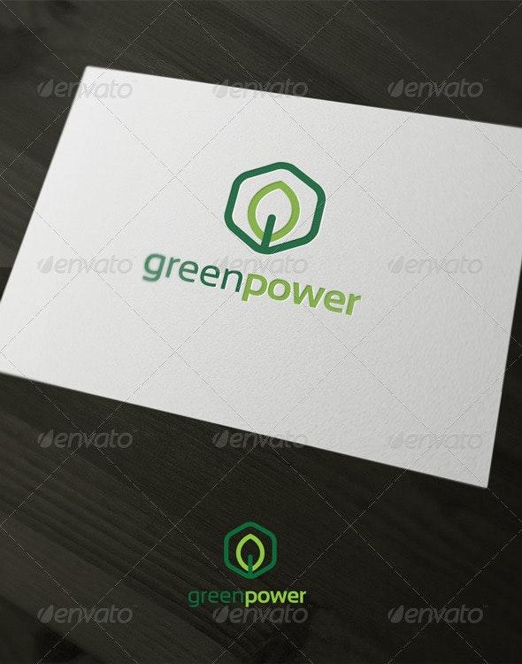 Green Power - Nature Logo Templates