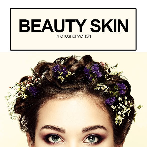 Beauty Skin Photoshop Action